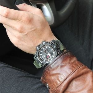 Other - Men Watch 50m Waterproof Wristwatch LED